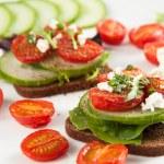 Vegetarian Sandwiches — Stock Photo #29079507