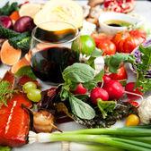 Healthy Food Assortment — Stock Photo