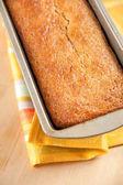 Vers gebakken brood van de zelfgemaakte banaan — Stockfoto