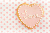 Cute Valentine's day Cookie — Stock Photo