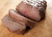 Lombo de carne orgânica — Foto Stock