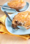 Freshly Baked Australian Meat Pies — Stock Photo