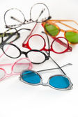 Different Eye Glasses — Stock Photo