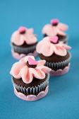 Cute Valentine's Day Cupcakes — Foto Stock