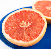Halved Grapefruit — Stock Photo