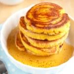 Gluten Free Coconut Flour Pancakes — Stock Photo #29083285