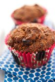 Morning Glory Gluten-free, Dairy-free Muffins with Carrots and Raisins — Stock Photo