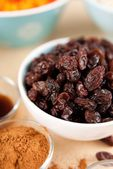 Raisins and Other Ingredients for Baking — Stock Photo