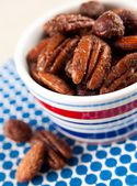 Sweet and Salty Spiced Nuts — Stock Photo