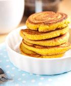Gluten Free Coconut Flour Pancakes — Stock Photo