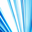 Abstract Photo with Bright Blue and White Angled Lines — Stock Photo