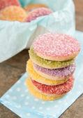 Multicolored Sugar Cookies — Stock Photo