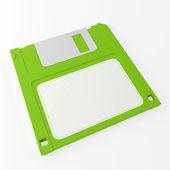 Disco verde — Foto de Stock