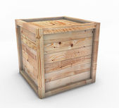 Box of wood — Stock Photo