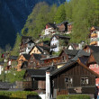 houses in hallstatt — Stock Photo