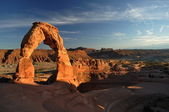 Delicate arch in Arches National Park — Stock Photo