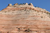 Rock formations in the desert — Stock Photo
