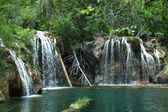 Hanging lake, Colorado — Stock Photo