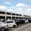 Outdoor cars parking — Stockfoto