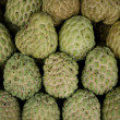 Custard apples stack — Stock Photo