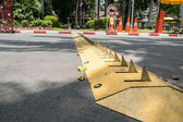 Traffic control barrier — Stock Photo