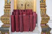 тайский стиль мат в буддийский храм — Стоковое фото