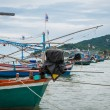 Old Thai fishing boat — Stock Photo