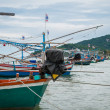 Stock Photo: Old Thai fishing boat