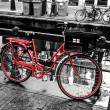 rode fiets in amsterdam — Stockfoto #29690263