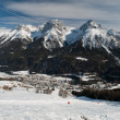Scuol in winter time — Foto de Stock