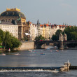 National Theatre and VltavRiver — ストック写真 #29698559