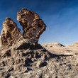 Bizarre rock formation — Stockfoto