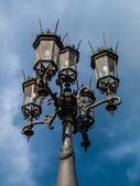 Historical street lamp — Stock Photo
