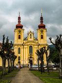 Baroque church in Hejnice — Stock Photo