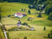 Landschap in de buurt van korenov — Stockfoto