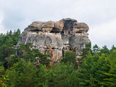 Sandstone formations in Bohemian Paradise — Stock Photo