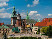 Wawel castle in Cracow — Stock Photo