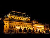Nationale theater in praag — Stockfoto
