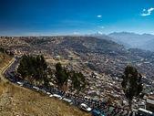 Parade in La Paz — Stock Photo