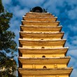 Eastern pagoda in Kunming — Stock Photo