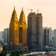 Stock Photo: Golden towers