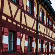 Typical timbered house in Germany — Stock Photo