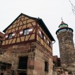 Nuremberg castle — Stock Photo