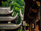 Typical chinese roofs — Stock Photo