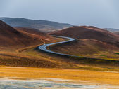 S curved road — Stock Photo