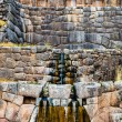 Stock Photo: Inca's bath - Tambomachay