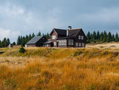 Mountain hut — Stock Photo