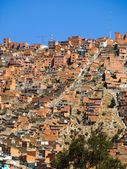 Houses od La Paz — Стоковое фото