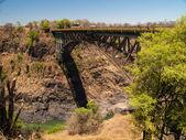 Victoria falls bridge — Stock Photo