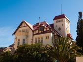 苟尔克房子在卢德里茨 — 图库照片